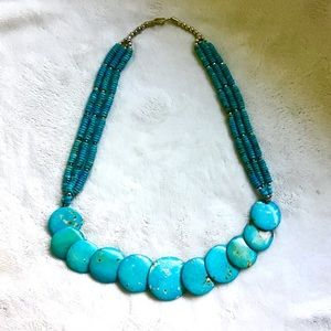 Jewelry - ❇️ Vintage Native American Turquoise Necklace